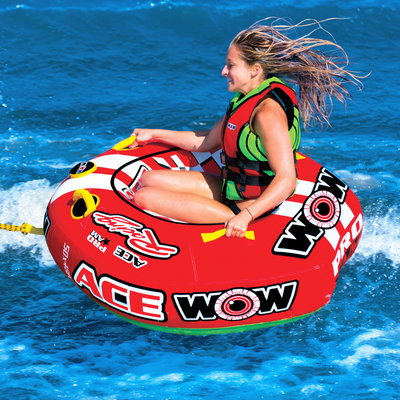 Funtube / funband de WOW Ace Racing 1-Persoons fun tube